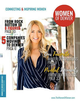 Women of Denver Magazine, Print and Digital for Professional Business Women